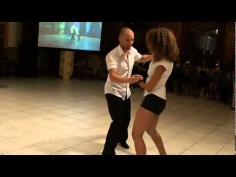 An example of Bachata dancing. Ataca & La Alemana are supposed to be the best bachata dancers, or so I've read. Sometimes people do bachata at my local latin club, and I'm hopeless at it! I'm like a stiff scarecrow. When I get time I'll practise the hip movement in front of a mirror.