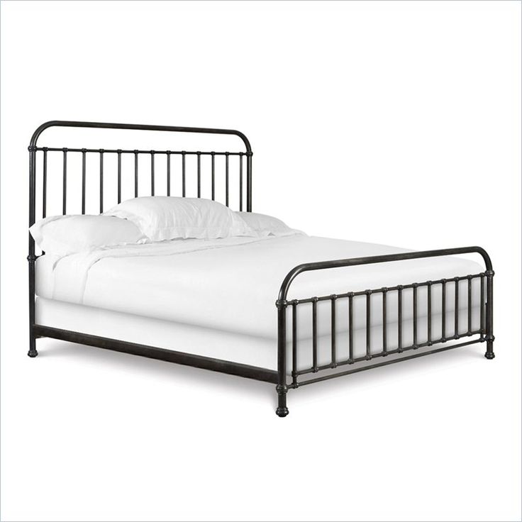 Shady Grove Spindle Headboard in Gray #bedroomfurniture #beds