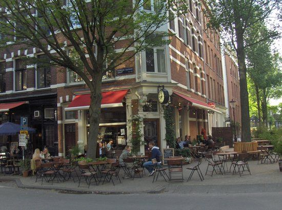 Cafe Toussaint, Amsterdam - great dinner near Grand Hotel Downtown