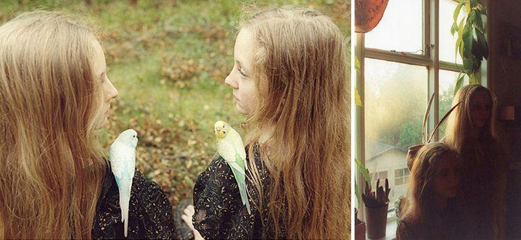 Icelandic Twin Girls Erna & Hrefna In Eerie Photos By Ariko Inaoka