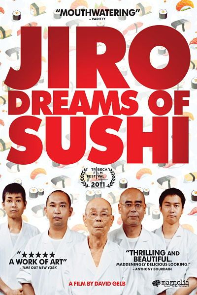 Jiro Dreams Sushi - Food in Japanese Cinema Part 3 - On The Gas | The Art Science & Culture of Food