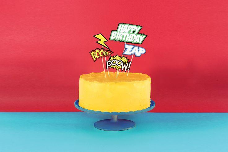 CAKE TOPPERS COMIC · www.geminioctopus.com