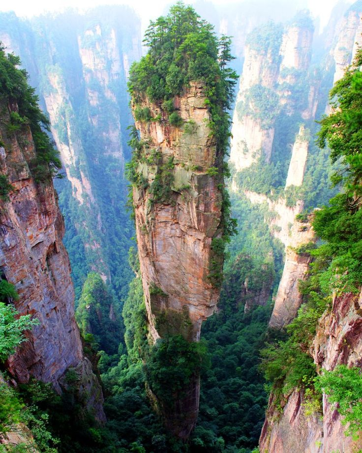 Montañas de Tianzi. China