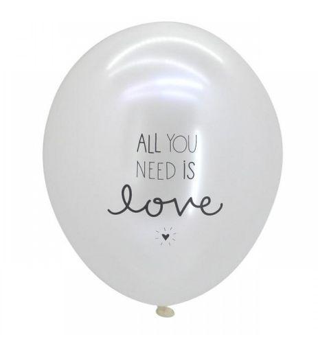 ALL YOU NEED IS LOVE Cj. 3 balões  Visite: http://simdesignme.wixsite.com/2014/comp-comemorar  Para mais info: sim.design.me@gmail.com