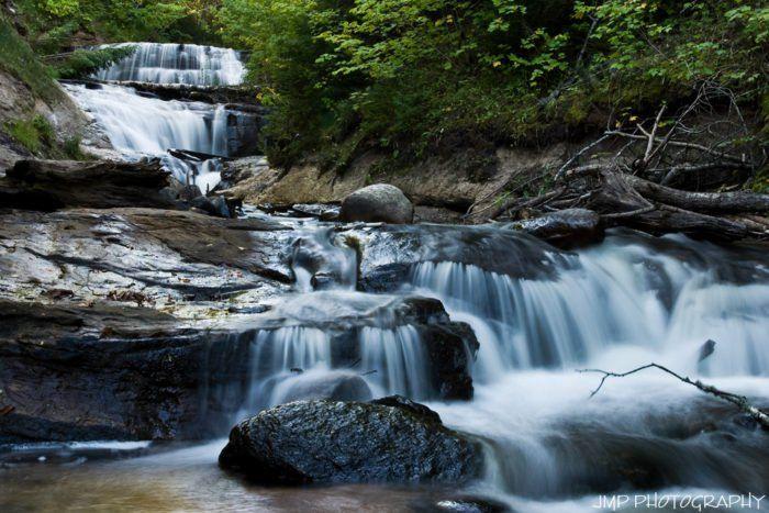 9 Mich waterfalls