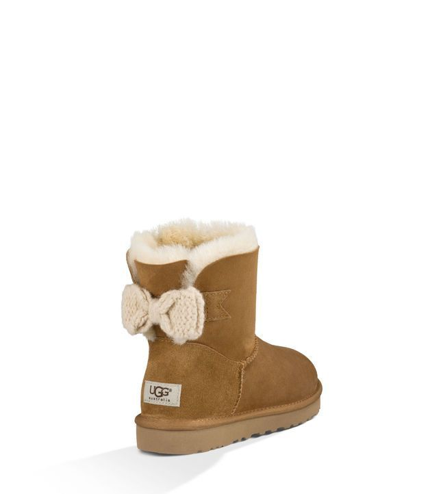 UGG® Mini Bailey Knit Bow Laarzen voor Dames | UGG® Australia