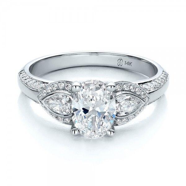 Stone Diamond Wedding Ring