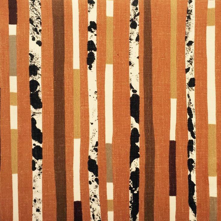 Vtg Fabric 50s 60s Lucienne Day Riga Heals Atomic Era Retro Mid Century