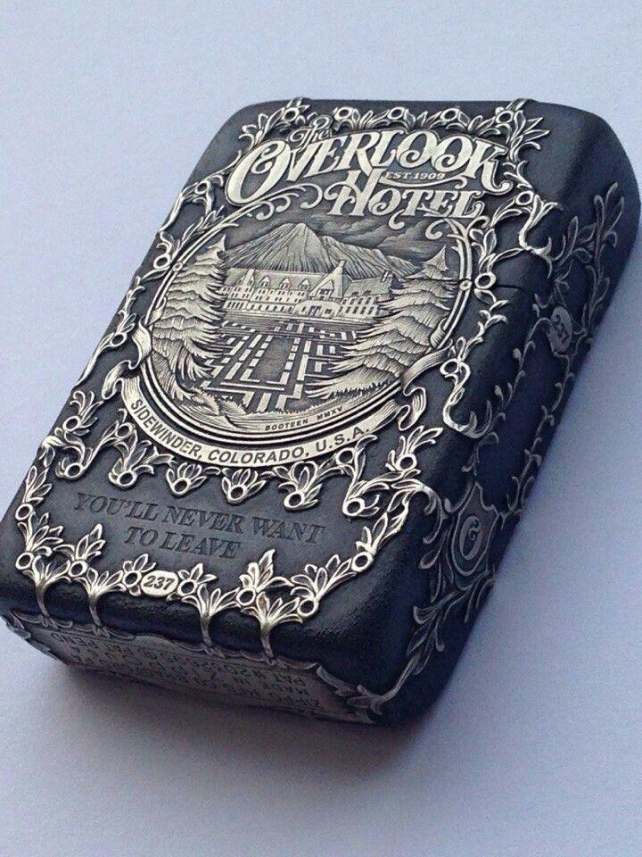 Custom Zippo lighter.