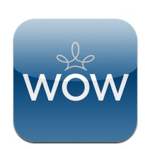 Employees can use WOW to give each other virtual high-fives, then share recognition's they receive on Facebook and Twitter.