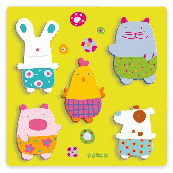 Édes állatok a farmon - Farmyard cuddly toys
