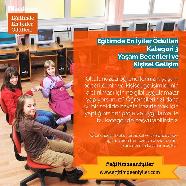 Eğitimde En İyiler Ödülleri Kurumsal Kategori 3: Yaşam Becerileri ve Kişisel Gelişim