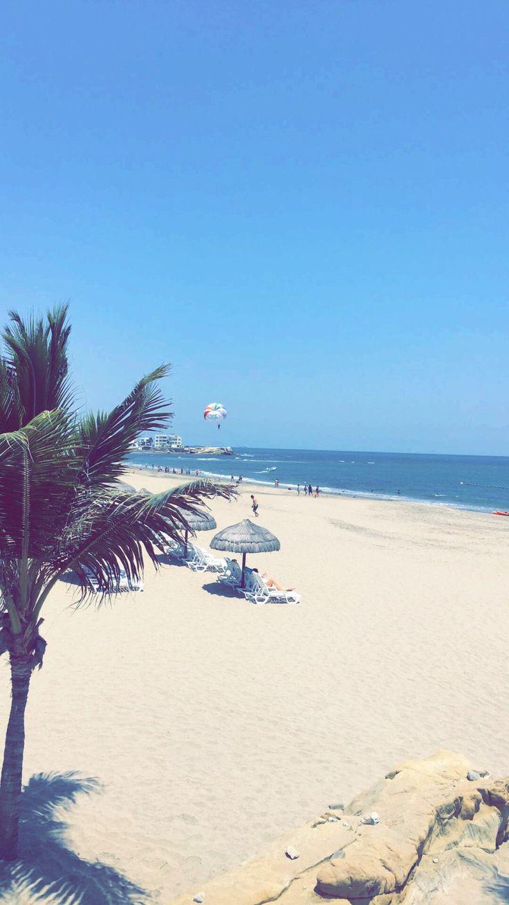 Punta Blanca #Playa #Ecuador ☀️