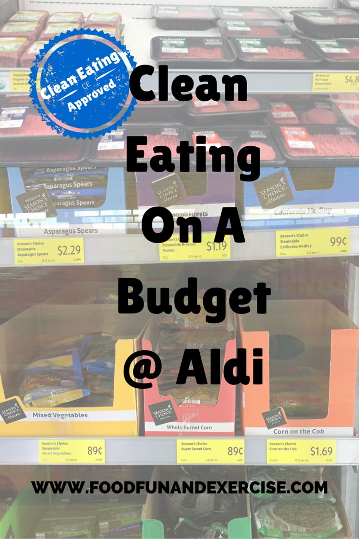 Your hard earned money never seems to go as far as you want it to.  Surprisingly, gas is cheaper lately, but typically the cost of everything is always going up and groceries are not excluded.  I know it seems difficult to eat clean while working with a limited budget, but it can be done.  I have been shopping for several years at Aldi.  Aldi stores seem to be popping up everywhere lately, making it more convenient for you to save money.  I try to buy as much as possible at Aldi…