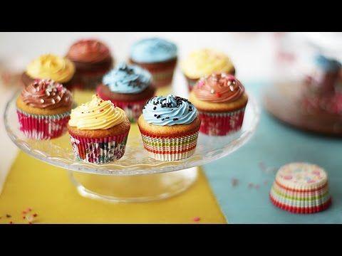 Cómo hacer cupcakes - YouTube