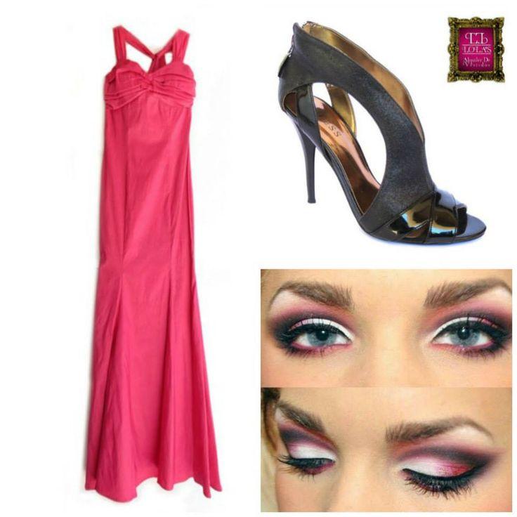 ¿Quieres lucir un estilo moderno, elegante y femenino? ¿Qué te parece esta propuesta? Encuentra en #LolasAlquilerdeVestidos un look a tu medida.