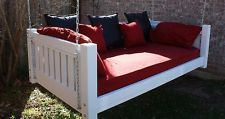 BRAND NEW PAINTED VICTORIAN DAYBED SWING TWIN MATTRESS SWINGING DAY BED SWINGS $1089 FREE SHIPPING TWIN. OTHER SIZES