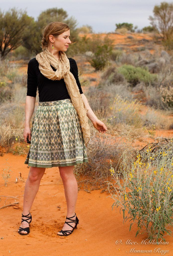 A geometric patterned, Cambodian Hoi silk skirt is an essential in every fashionista's wardrobe. With 2-4 skirts styled from each piece of fabric, these are limited editions!