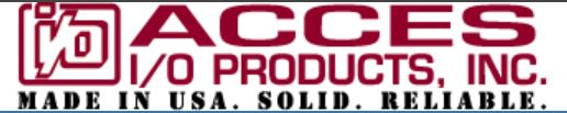 Founded in 1987 in San Diego, CA, ACCES (Acquisition Control Communication Engineering/Systems) offers one of the industry's widest selection of data acquisition (DAQ) products, with hundreds of standard, off the shelf products to choose from. These products include signal conditioning, analog and digital I/O, RS-232/422/485 serial communications, isolated input / relay output, and watchdog timer cards. For more information, contact us on 01202 872771 or sales@itm-components.co.uk