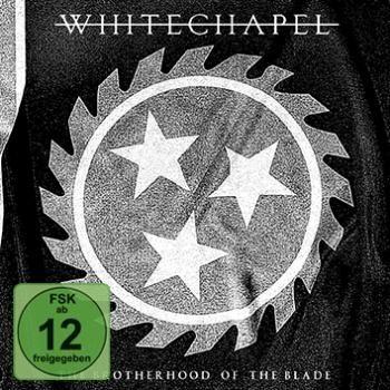 """L'album dei #Whitechapel intitolato """"Brotherhood of the Blade"""" su CD e DVD in formato digipak."""