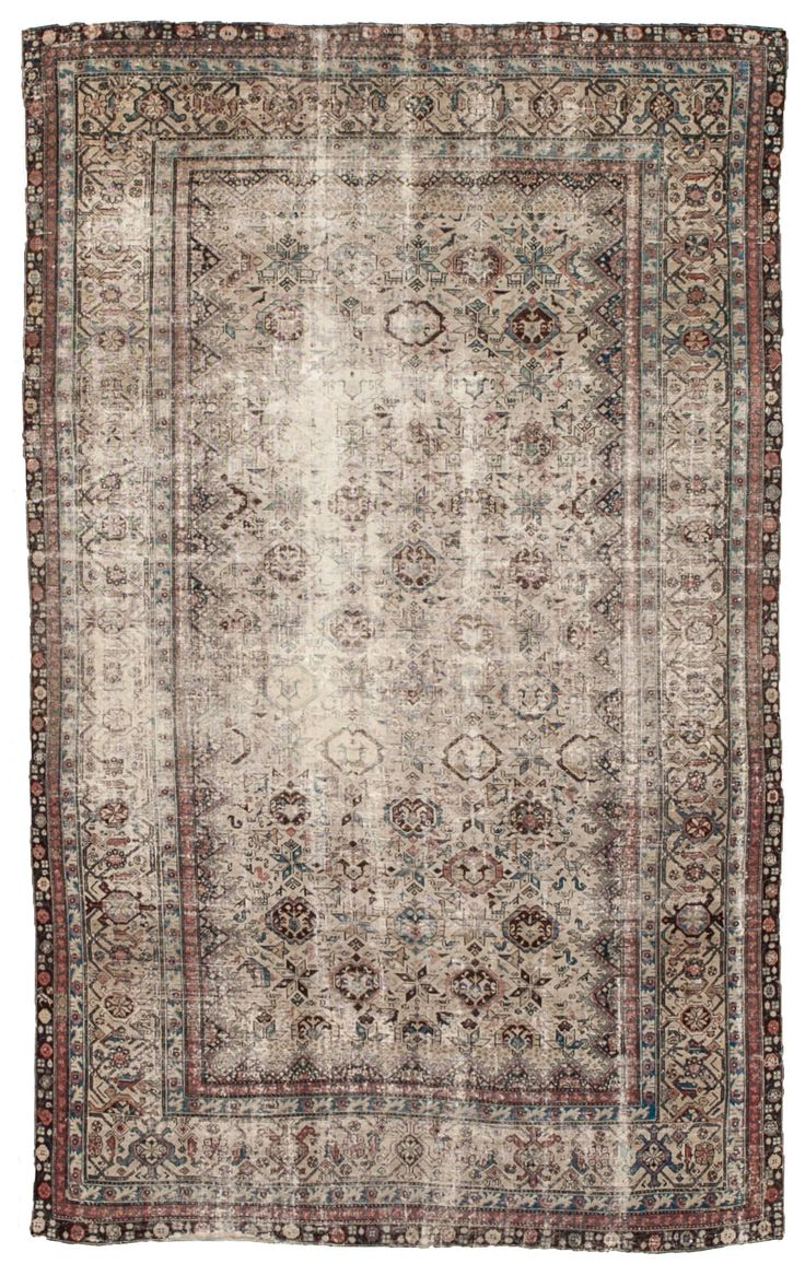 Mallayer Persian Rug Woven Is Antique Distressed Rugs