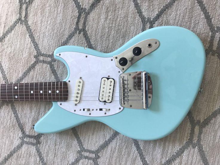 1996 Fender Jagstang Made In Japan. Designed By Kurt Cobain.