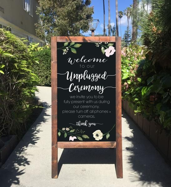 Best Must Have Wedding Signs Images On Pinterest Wedding