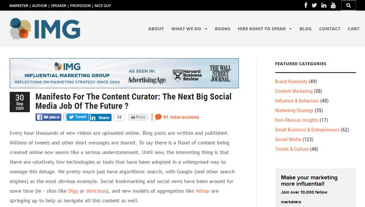 """Someone whose job it is not to create more content, but to make sense of all the content that others are creating. To find the best and most relevant content and bring it forward. The people who choose to take on this role will be known as Content Curators."" http://www.rohitbhargava.com/2009/09/manifesto-for-the-content-curator-the-next-big-social-media-job-of-the-future-.html"