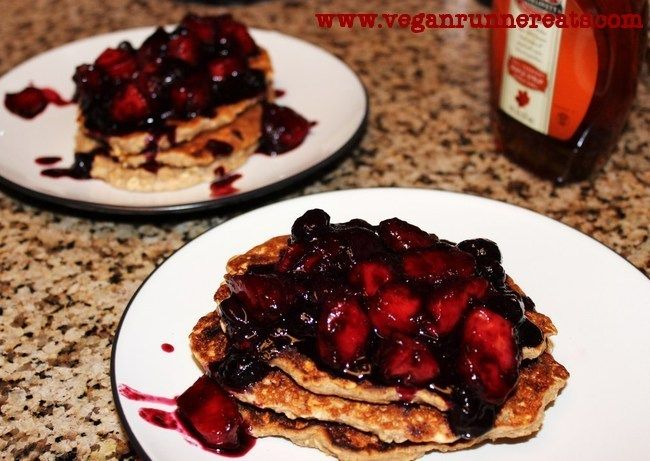 ... pancakes and waffles~ on Pinterest | Pancakes, Vegan pancakes and