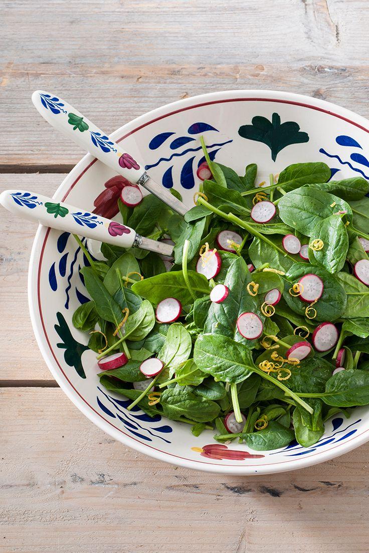 Maak je salade op in de Boerenbont schaal Compagnie!