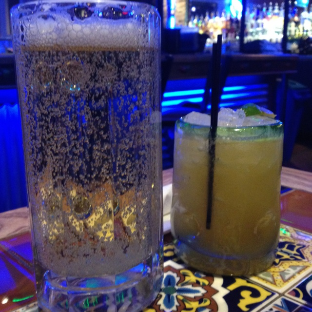 Bud light & margarita