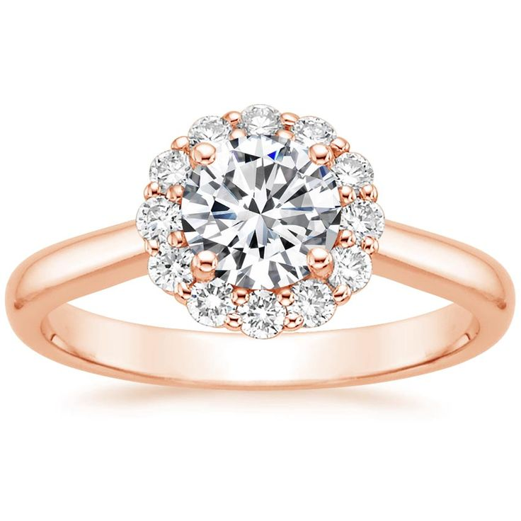14K+Rose+Gold+Lotus+Flower+Diamond+Ring+(1/3+ct.+tw.)+from+Brilliant+Earth