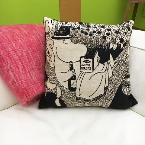 Moominpappa cushion cover by Aurora Decorari