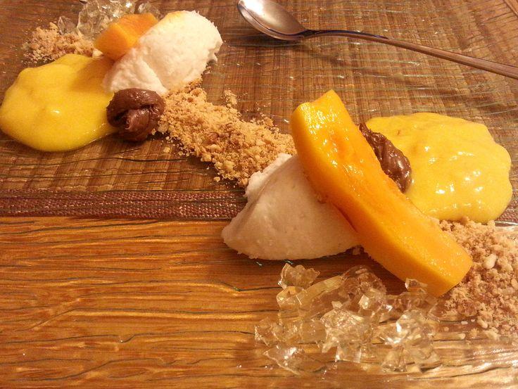 Mango, kokos, czekolada