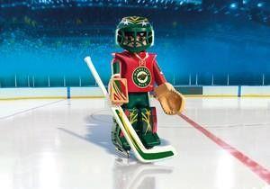 Playmobil Hockey LNH:Gardien du Minnesota Wild - Castello | Jeux et Jouets