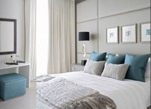 grey white and lavender bedrooms   DT Painting Services San Diego county gray bedroom image