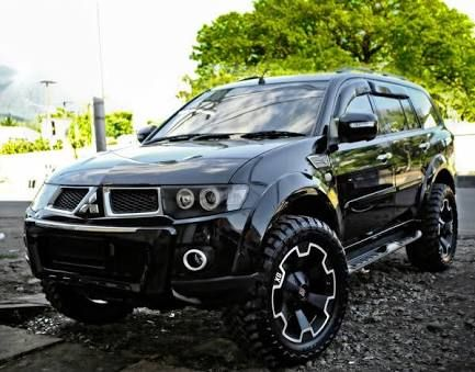 Mitsubishi Pajero sport with off road tyres - Pesquisa Google
