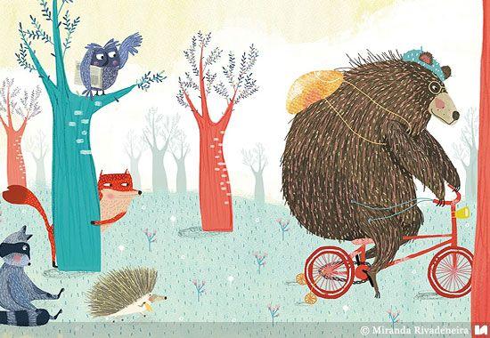 Miranda Rivadeneira | Ilustradores Argentinos