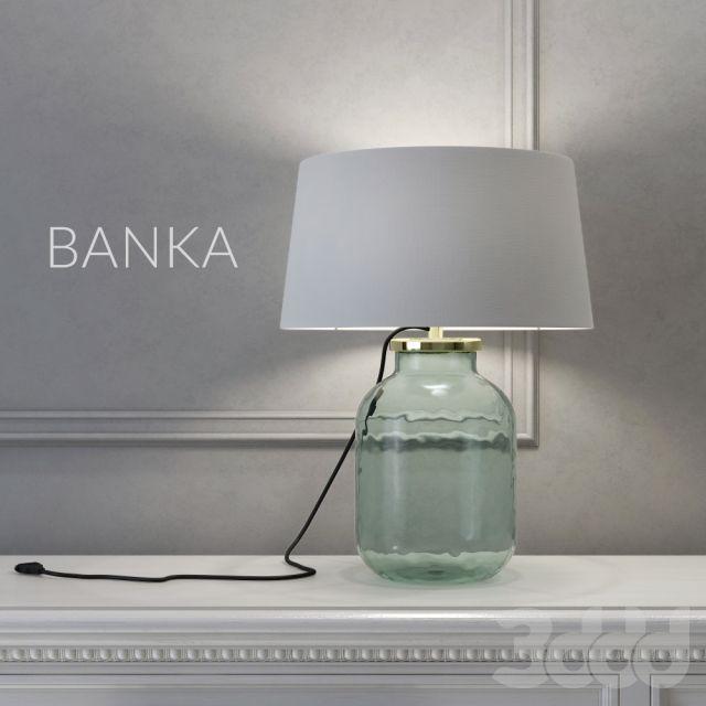 Светильник в виде банки