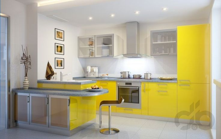 cazibeli sarı mutfak örnekleri