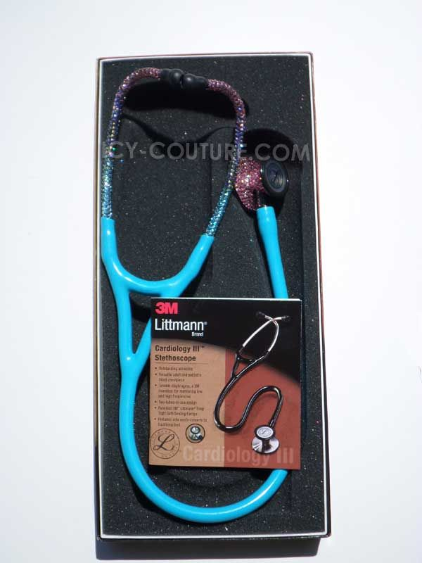 ICY Couture Littmann Cardiology IV Crystal Stethoscope with Swarovski Crystals. Whats Your Color?