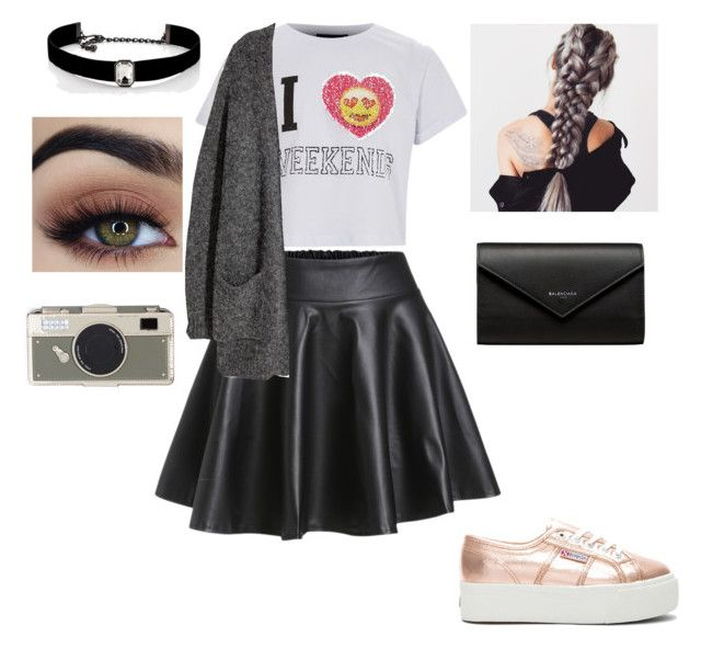 """Untitled #13"" by amcracea-1 ❤ liked on Polyvore featuring Superga, Balenciaga, Kate Spade and Kenneth Jay Lane"