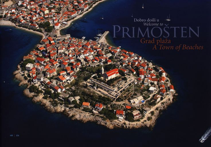https://flic.kr/p/KWDoTd | Dobro dosli u/ Welcome to Primosten, Grad plaza/ A Town of Beaches; 2015_1, Sibenik-Knin co., Croatia