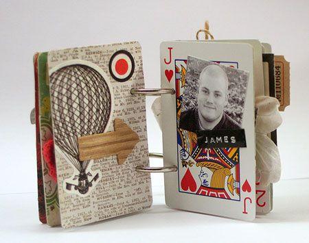 Mini Playing Card Album