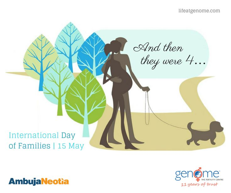 Family - A link to the past, a support to the present and a hope to the future. We're glad in making your family complete since past 11 years. Greetings on #InternationalDayofFamilies