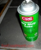 Prevent ash and dust build up using this Dry Moly Lube Spray. Pellet Stove Cleaning Kits and Lube Kits » EastCoastHearth.com - Stoves, Parts, and Supplies