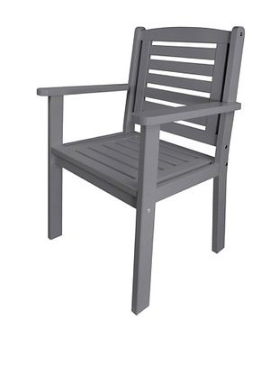 47% OFF Esschert Design USA Arm Chair, Grey