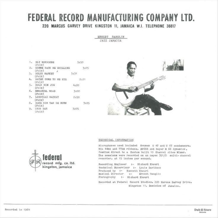 Ernest Ranglin - Jazz Jamaica (Vinyl)