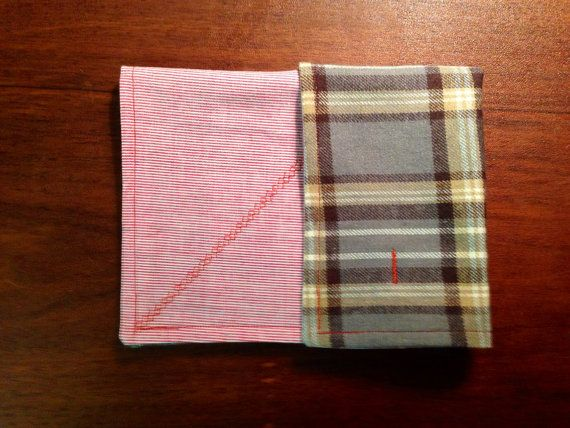 Huckleberry woodchuck flannel hankie