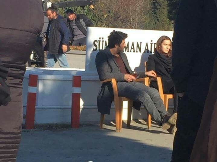Engin Akyürek ve Fahriye Evcen. Set Ölene kadar